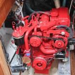 9 Beta 25 Diesel Engine and Under Sink Area
