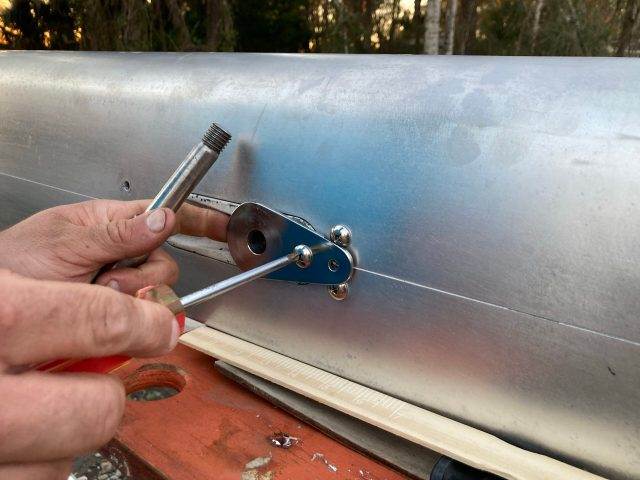 Converting from rod rigging to wire rigging on our Sabre 42 sailboat rig