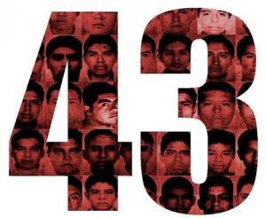 Ayotzinapa 43 logo