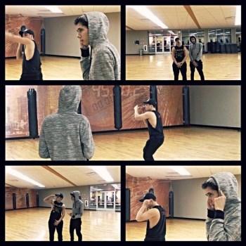 rehearsal pic 1 here dance short film