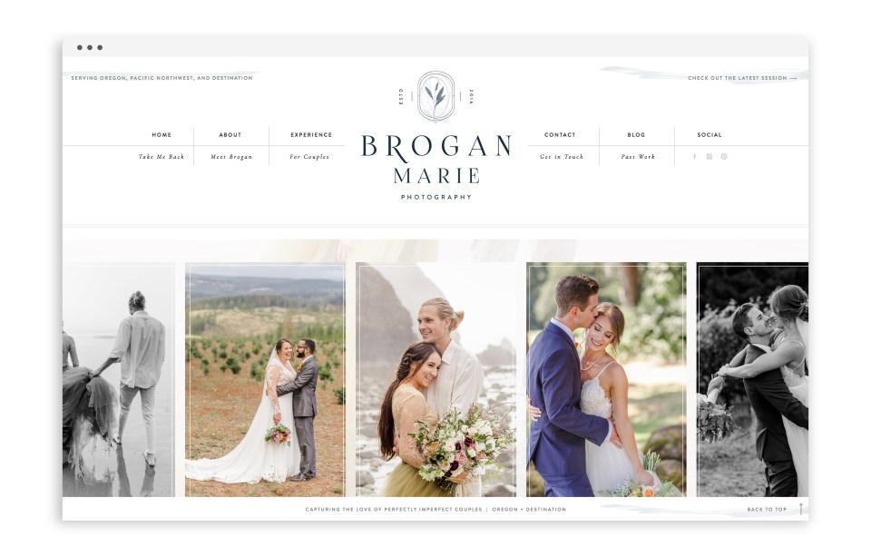 Brogan Marie Photography - With Grace and Gold - Showit Template, Showit Templates, Showit Theme, Showit Themes, Showit Design, Showit Designs, Showit Designer, Showit Designers - Photo - 4