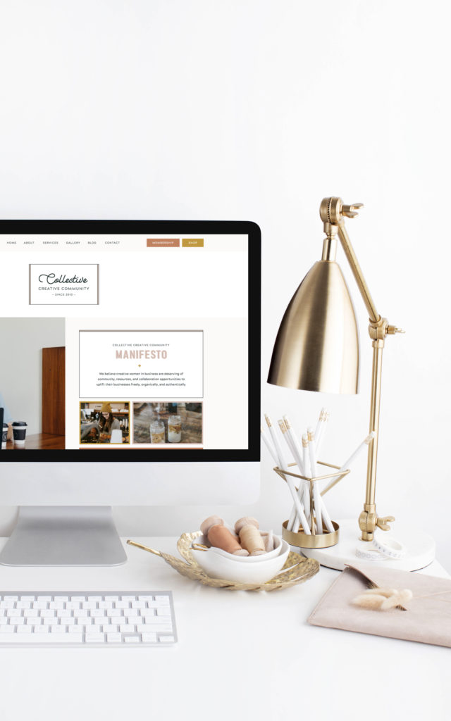 With Grace and Gold - Showit Template, Showit Templates, Showit Design, Showit Designs, Showit Designer, Showit Designers