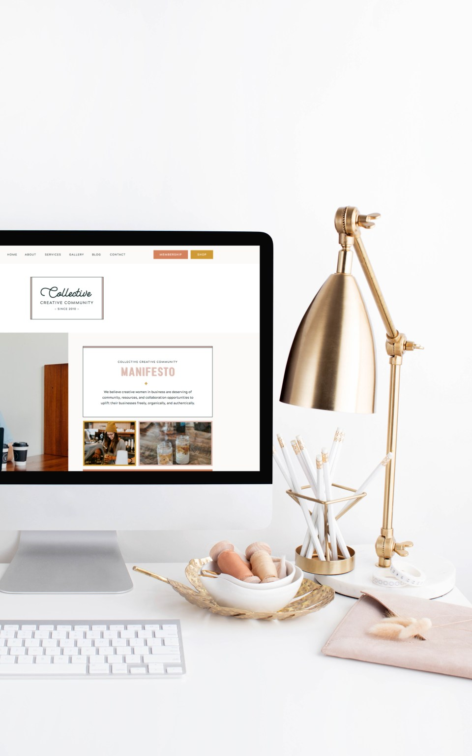 Collective - With Grace and Gold - Showit Template, Showit Templates, Showit Theme, Showit Themes, Showit Design, Showit Designs, Showit Designer, Showit Designers - Photo