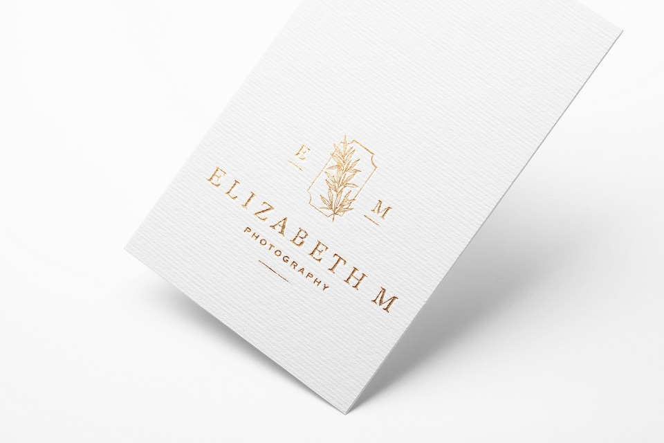 Elizabeth M Photography - With Grace and Gold - Logo Design, Stationery Design, and Web Design for Creative Women in Business - Photo - 6