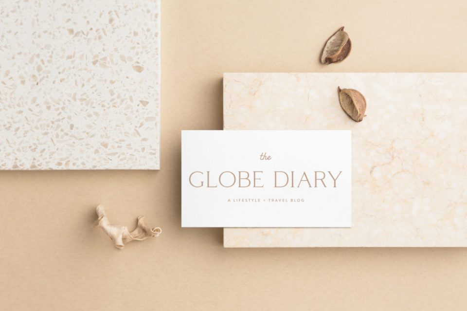 The Globe Diary - Custom Brand and Showit Web Design by With Grace and Gold - Showit Theme, Showit Themes, Showit Template, Showit Templates, Showit Design, Showit Designer - 5