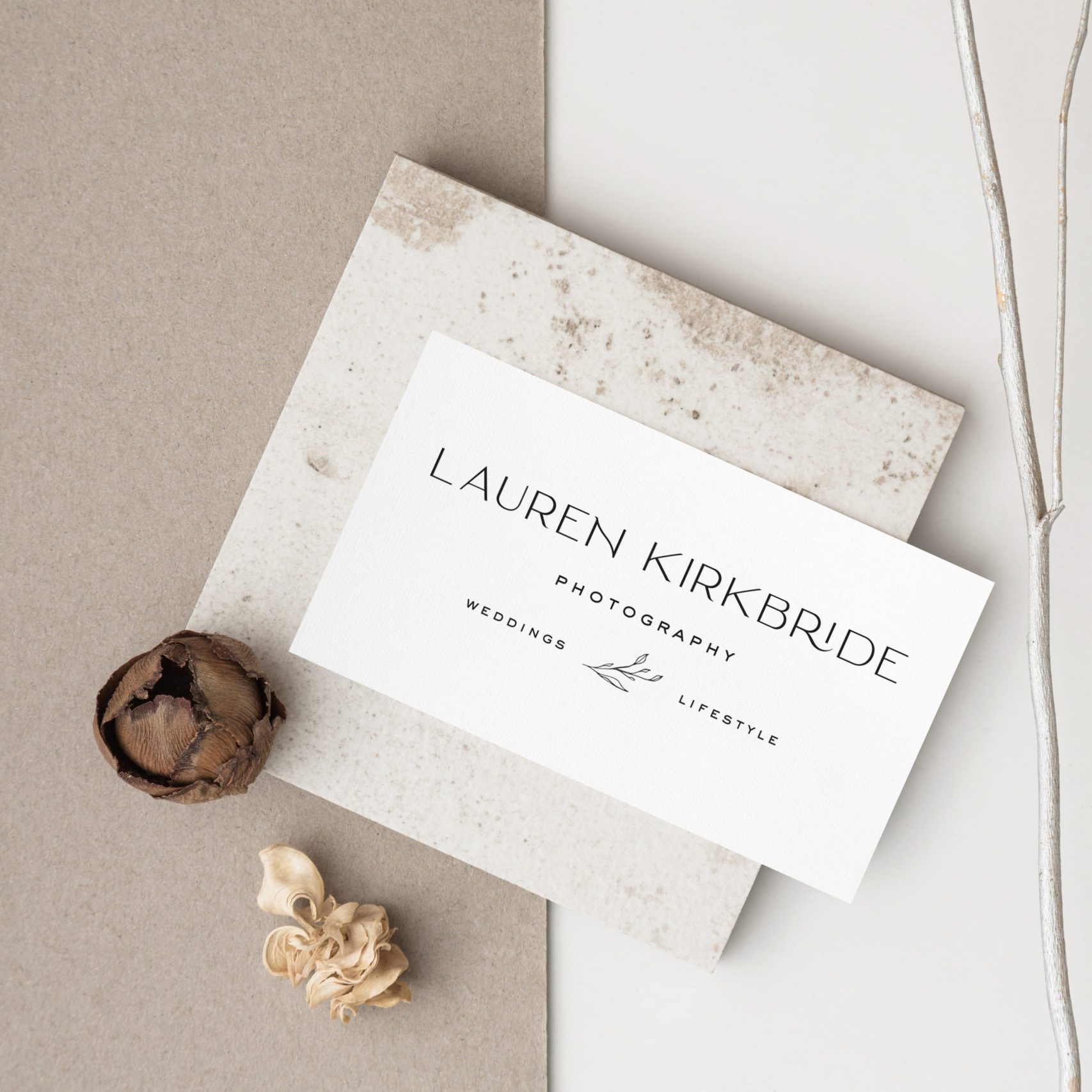 Lauren Kirkbride Photography - Custom Logo Design and Showit Website Design by With Grace and Gold - Photo - 12