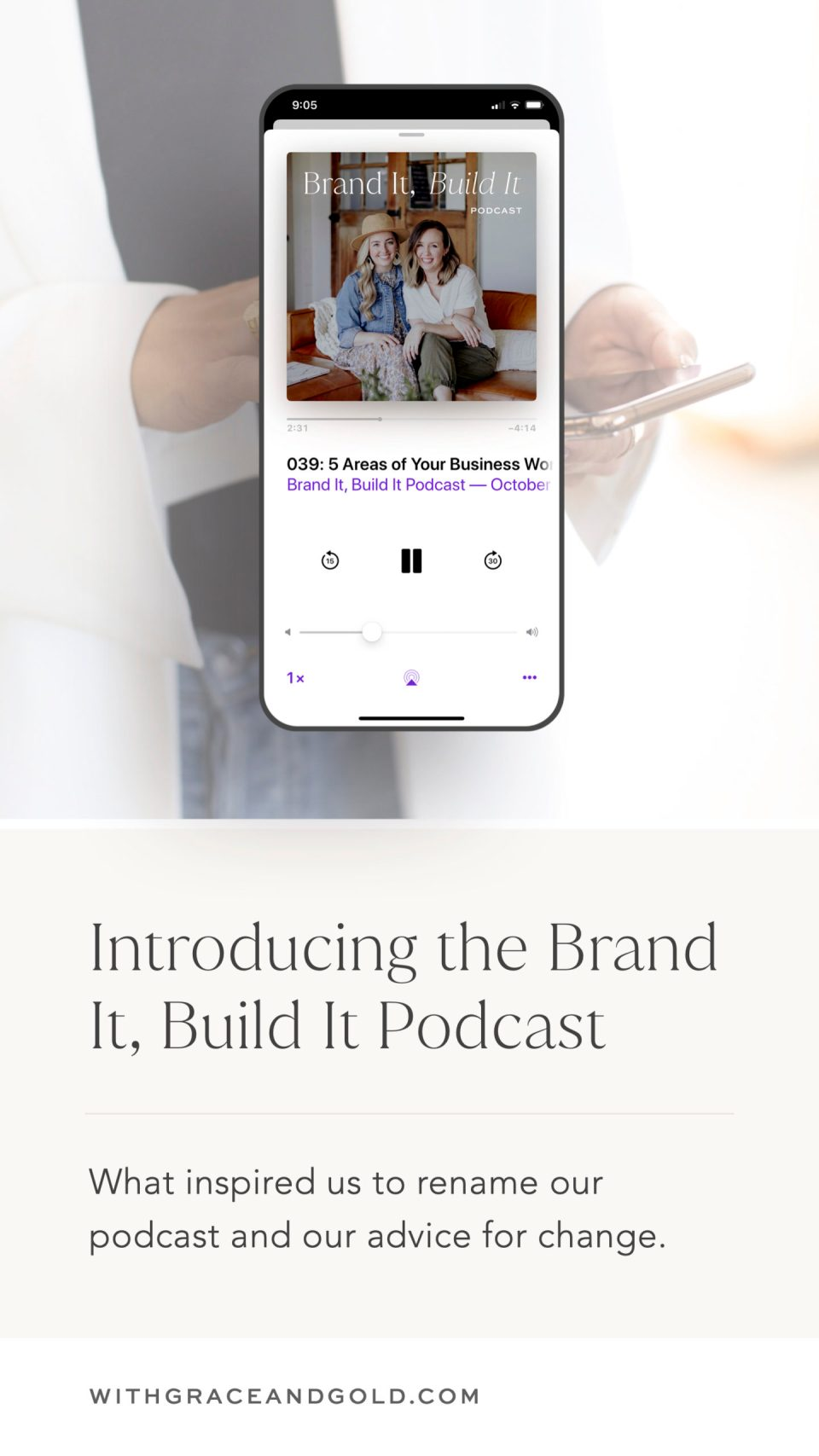 The Brand It Build It Podcast by With Grace and Gold and The Preset Market
