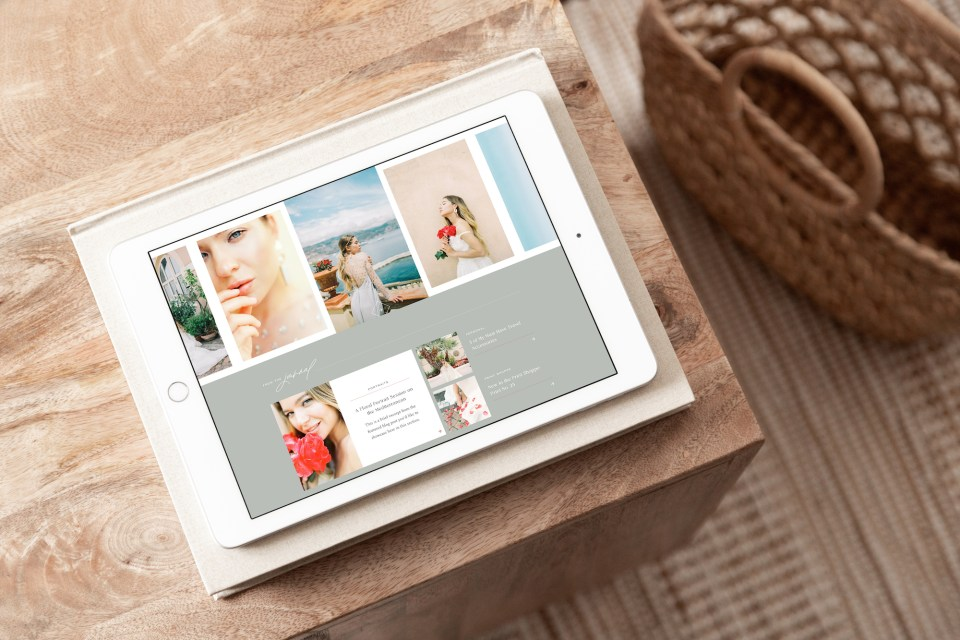 Best Showit Website Template by With Grace and Gold - Showit Template, Templates, Design, Designs, Designer, Designers - Lively