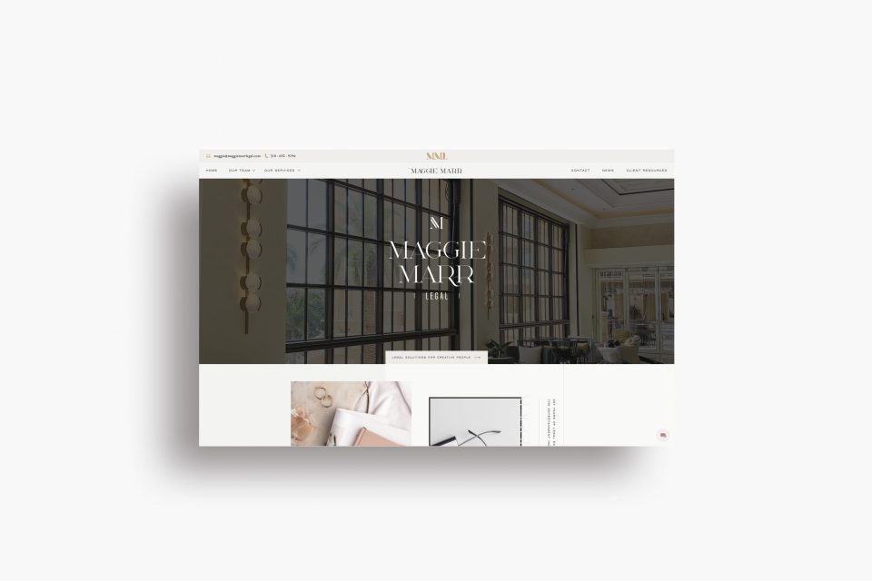 Custom Brand Logo and Showit Web Website Design Designs Designer for Law Firm Laywer Lawyers Attorney Attorneys - With Grace and Gold - 18