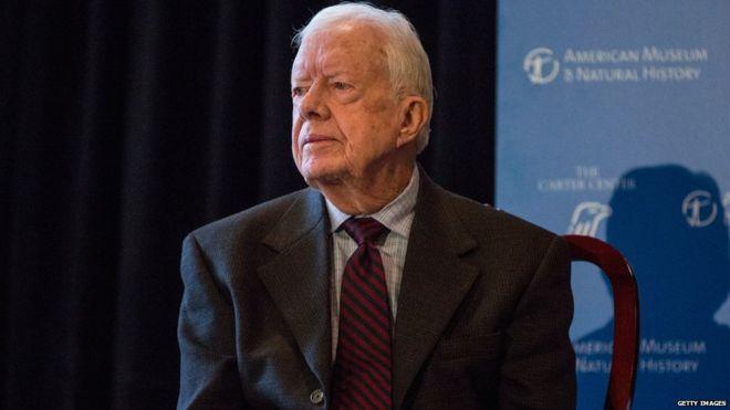 Ex President Jimmy Carter Pastor
