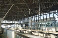 27Mar15 002 Japan JR Kyushu Shin-Tosu Station Saga Shinkansen Platform