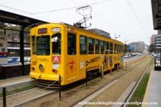 27Mar15 004 Japan Kyushu Kumamoto City Tram Type 1200