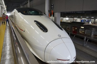 27Mar15 010 Japan JR Kyushu 800 Series Shinkansen Tsubame