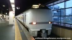 30Jun15 004 Japan Honshu Fukui Kanazawa JR West Thunderbird Limited Express 683 Series EMU Train