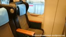 03Jul15 001 Ichinoseki Tokyo JR East Tohoku Shinkansen Hayabusa 104 E6 Series Train Green Car