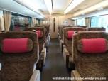 13Nov16 003 Japan Kansai JR West 287 Series EMU Train Green Car Hashidate Limited Express