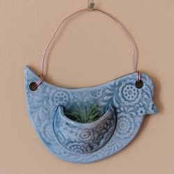 Watershed Pottery Air Plant Holder - Bird Pocket