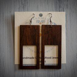 Tennessee Hippie - Guitar Wood Earrings