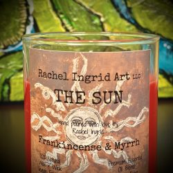 Rachel Ingrid Art Candles - Frankincense & Myrrh