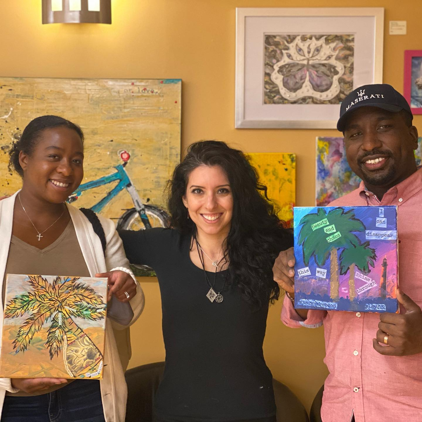 Painting Workshop at With Intentions Holistic Studio in Lake Como, NJ