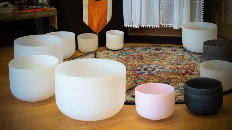 Crystal Singing Bowl Meditations. Chakra Singing Bowl Sound Bath.
