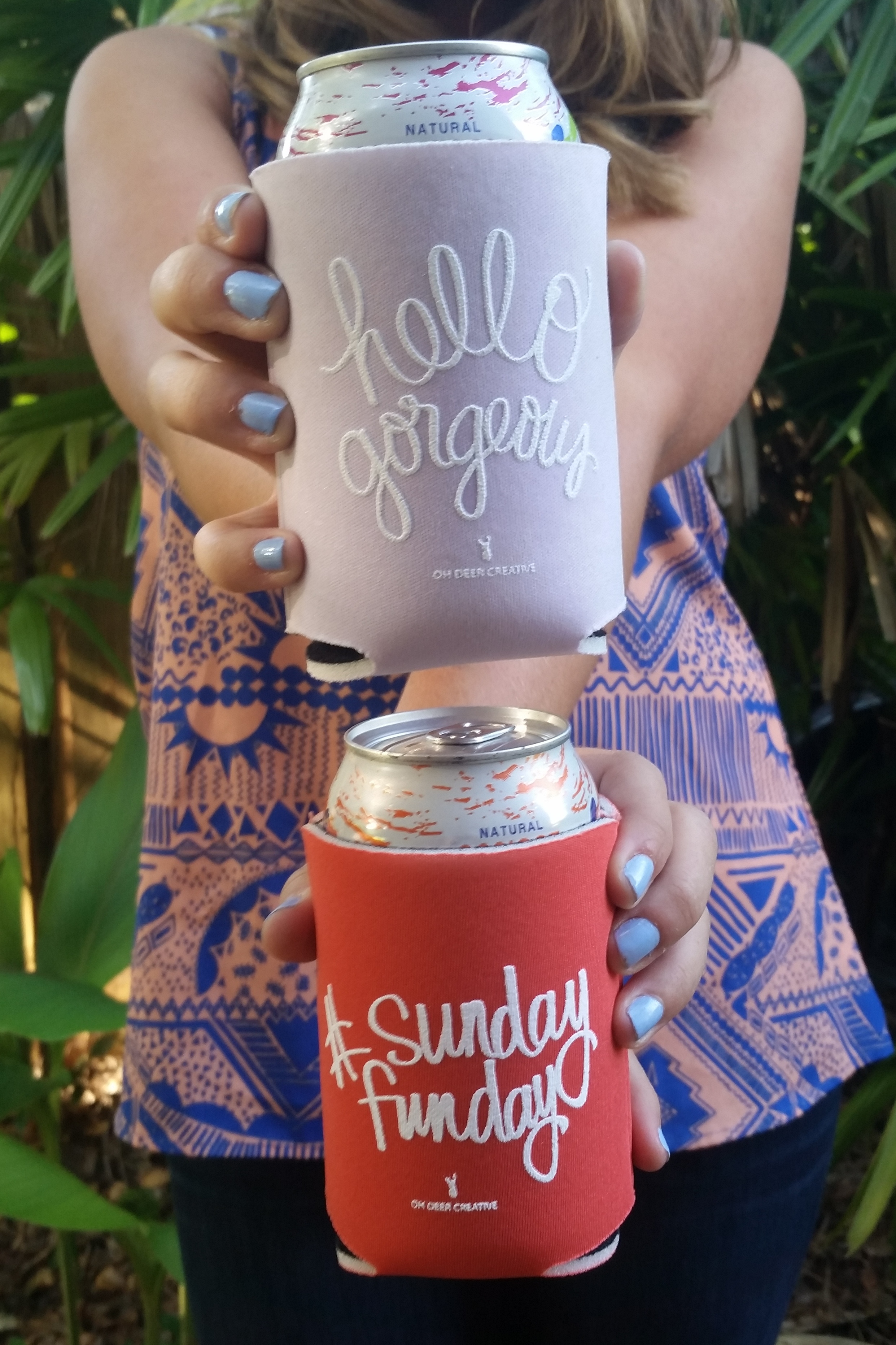 Koozies for a summer party or get together