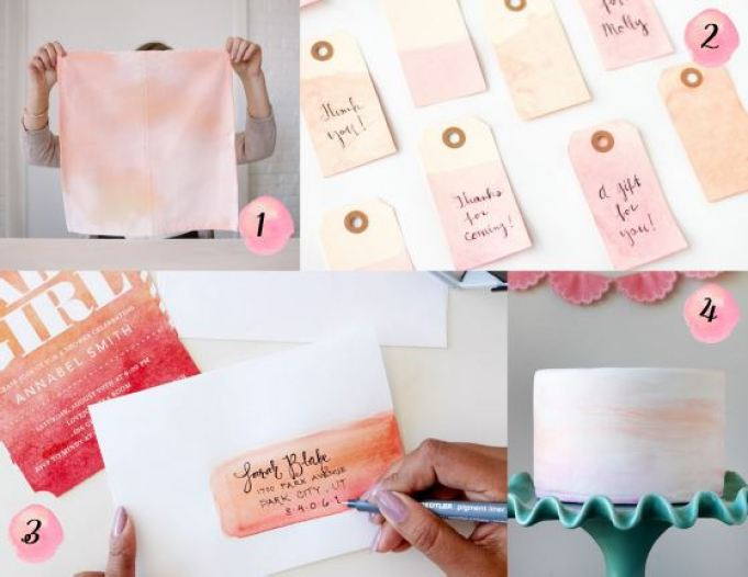 DIY Watercolor Projects