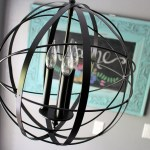Orb Chandelier that you can make on your own