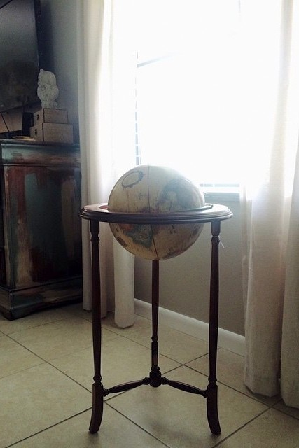 Globe-from-the-thrift-store