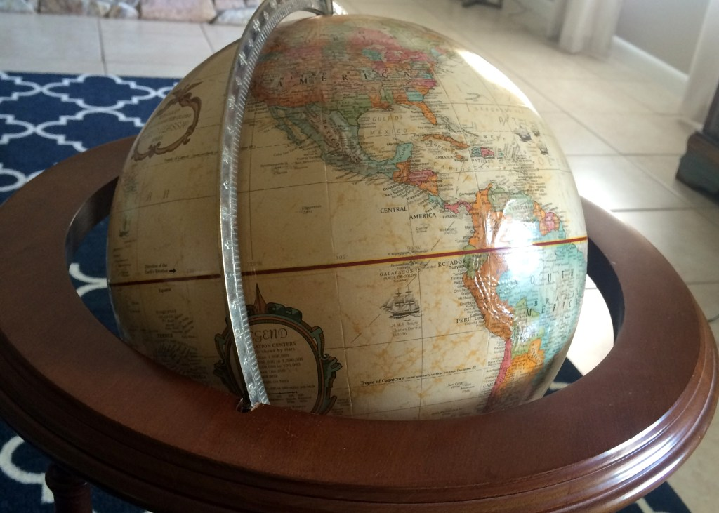 Globe-before-the-paint