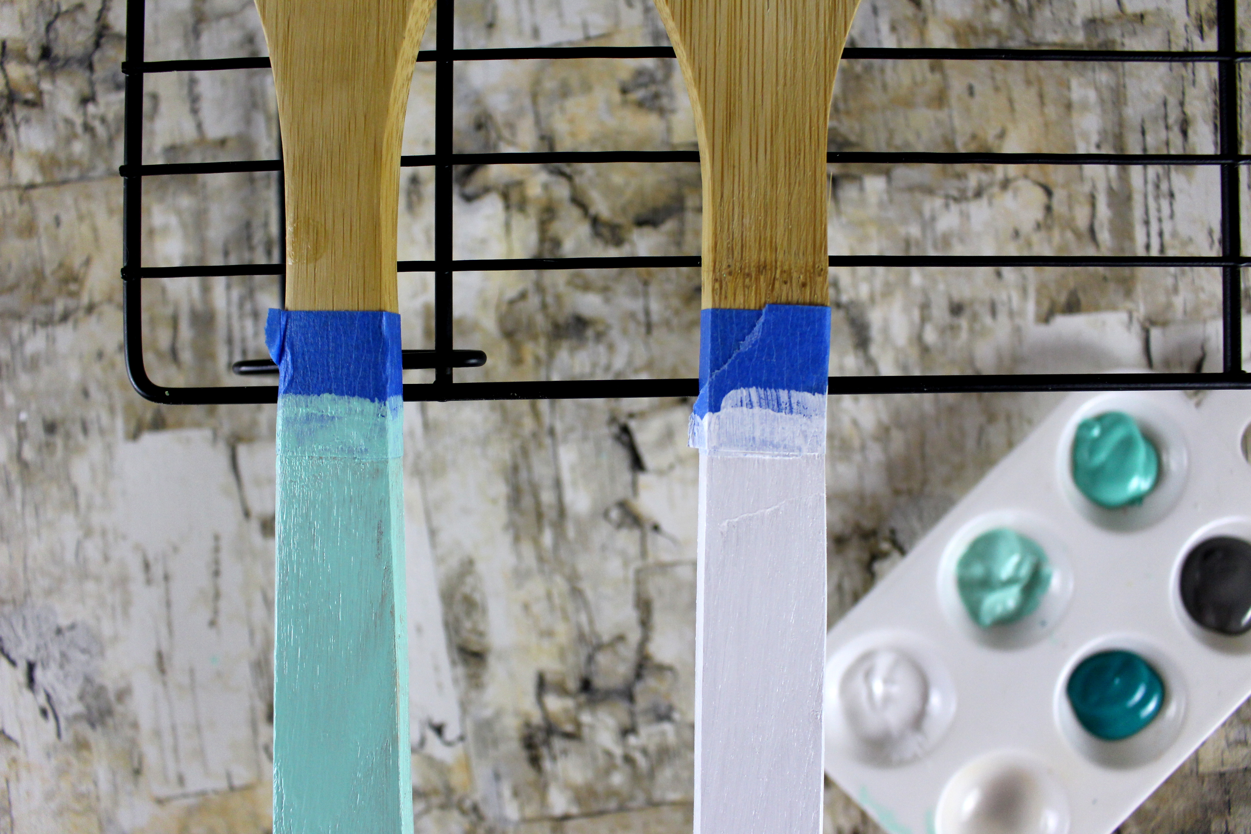 DIY: Painting Kitchen Utensils