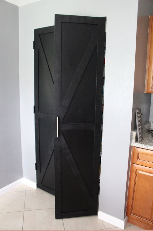 New Pantry Barn Doors For The Kitchesn