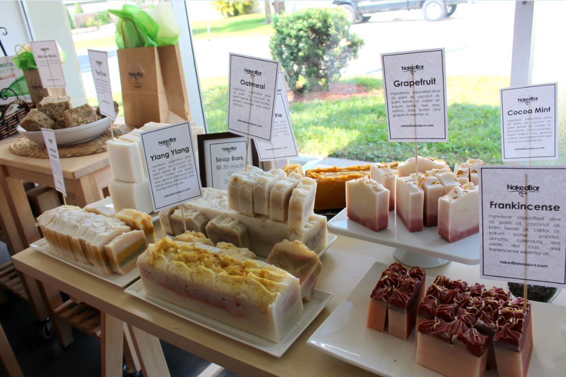 All Natural Soaps at Naked Bar Soap Co