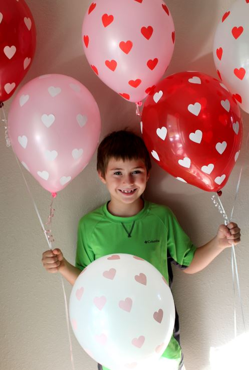 Valentine's Day project for kids