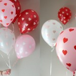 DIY Valentine's Day Heart Balloons for a party