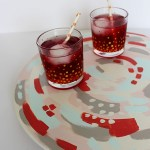 Painted lazy susan for your next party
