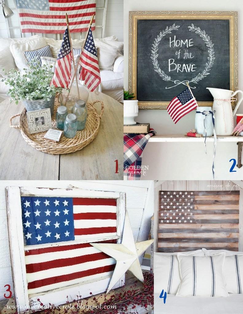 Fancy Finds: Patriotic Home Decor