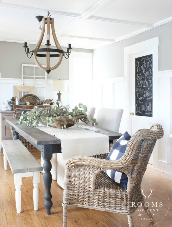 At Home With the Barkers Dining Room