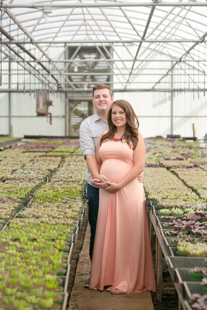 Rachel V Photography - Greenhouse Maternity