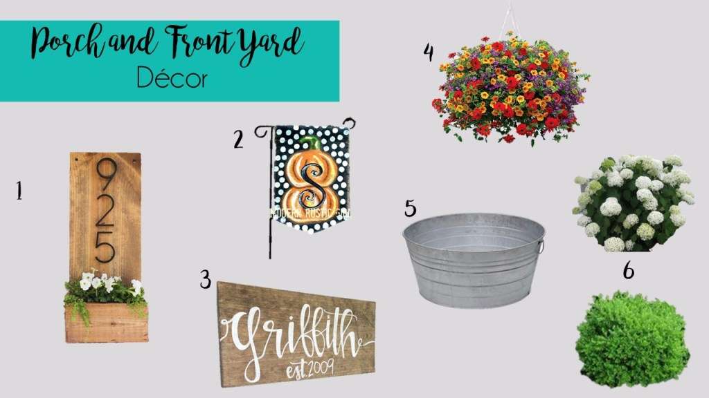 Porch and Front Yard Decor Essentials