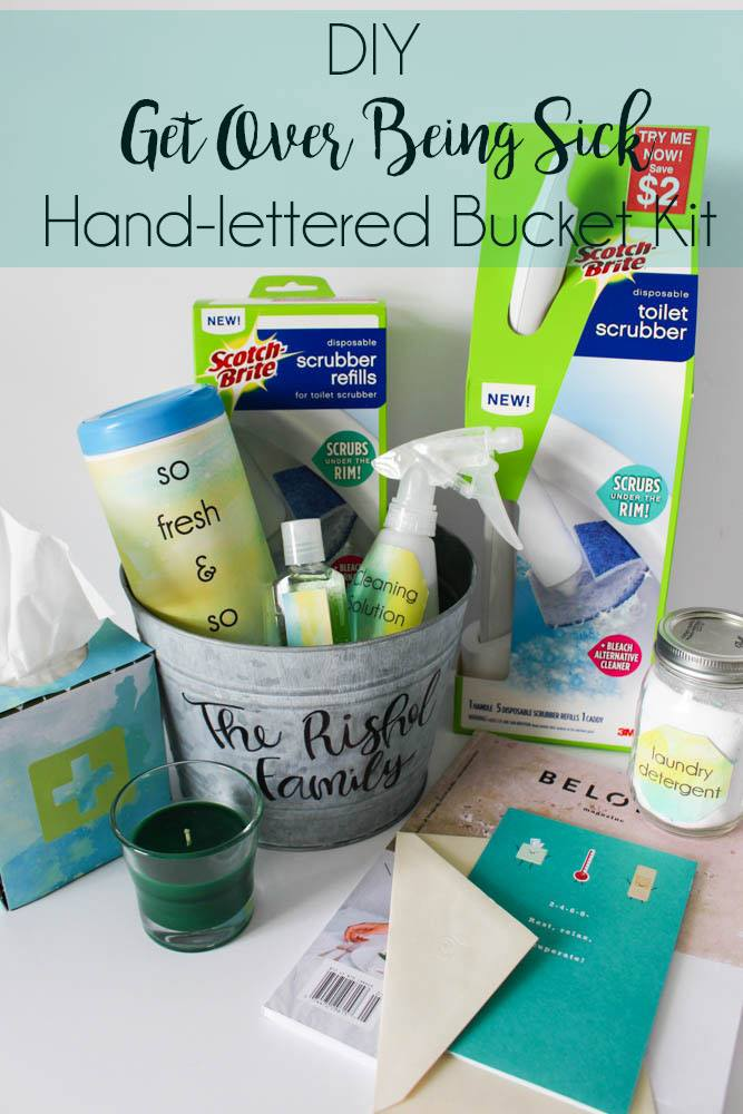 Get over being sick with this DIY bucket kit  - Within the Grove