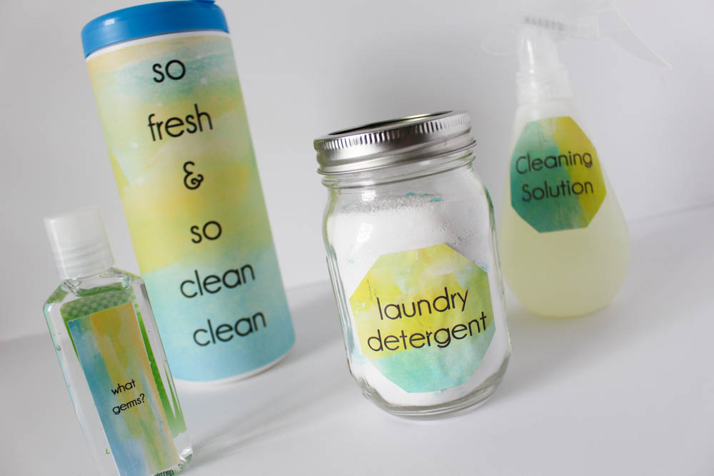 DIY Cleaning supplies for your home - Within the Grove