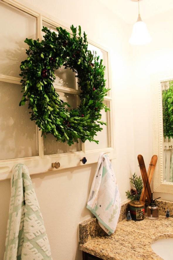 Window towel rack  - Within the Grove