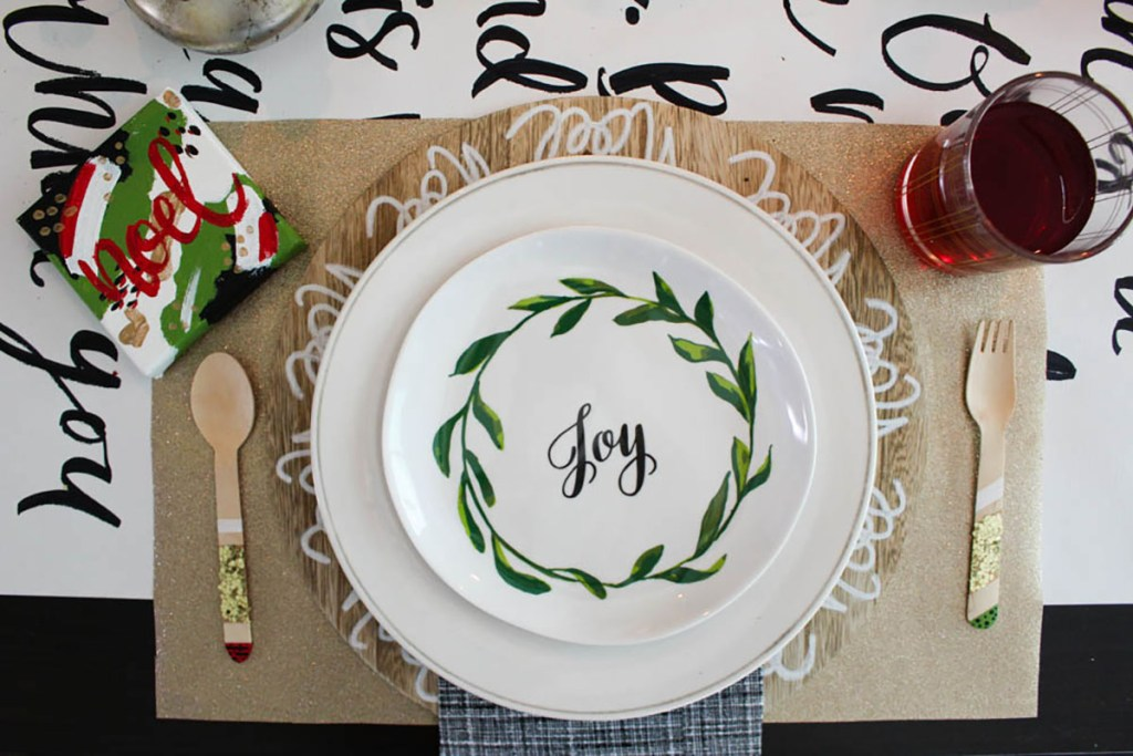 Holiday table blog hop 2016 - Within the Grove