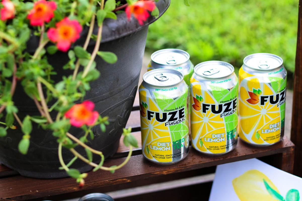 FUZE Lemon Iced Tea - Within the Grove