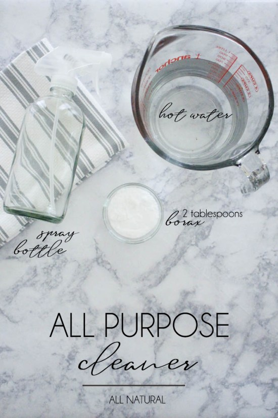 All Purpose cleaner using Borax - Within the Grove