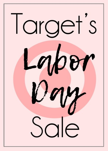 Target's Labor Day Sale - Within the Grove
