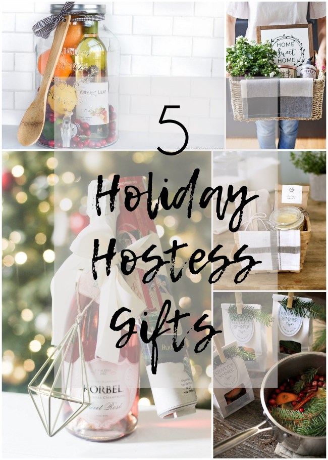5 Holiday Hostess Gifts
