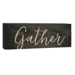 Gather Sign on Amazon Prime