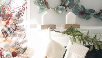 our christmas home decor 2017 - Neutral Christmas Decor